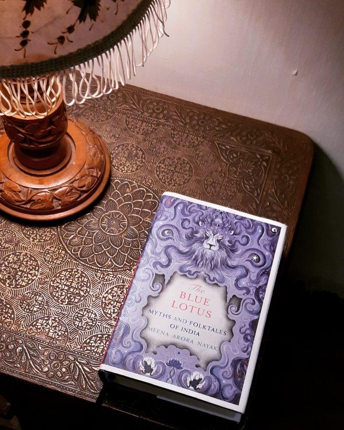 The Blue Lotus by Meena Arora Nayak